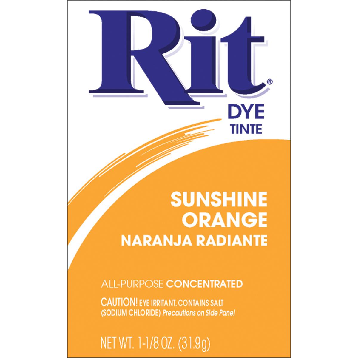 Rit: Sunshine Orange 43 Dye, 118 Oz
