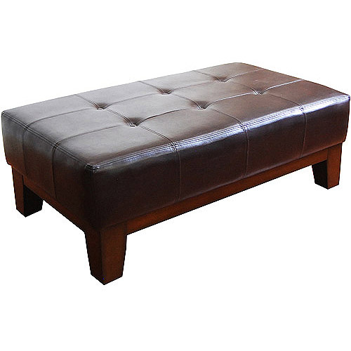 Kinfine Rectangle Cocktail Ottoman, Multiple Colors by Kinfine USA Inc