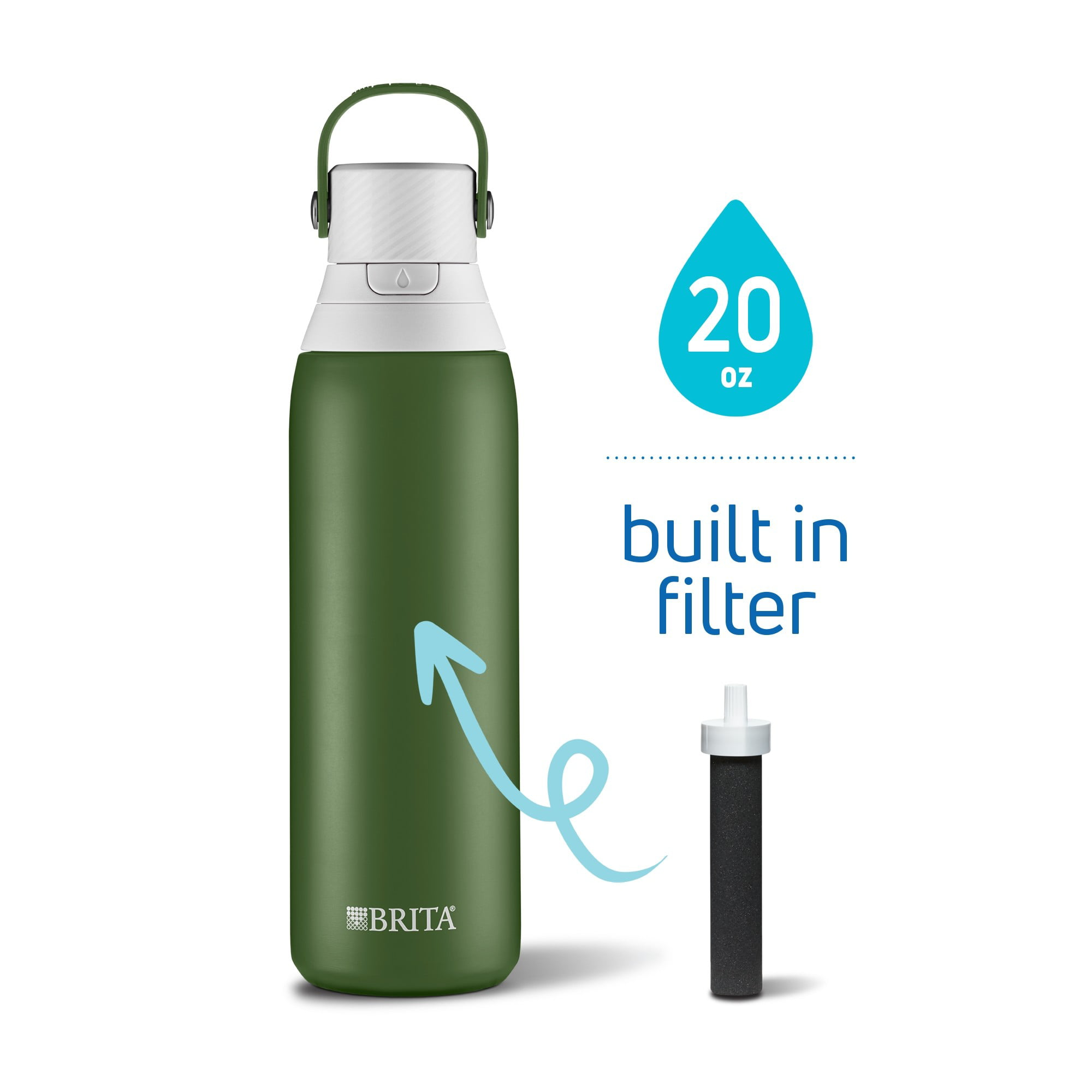 OFFICIAL SONY PLAYSTATON BUTTON ALUMINUM WATER DRINKS BOTTLE WITH BUILT IN STRAW