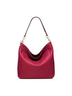 e8d876051015 Product Image Michael Kors Fulton Medium Leather Shoulder Bag- Cherry