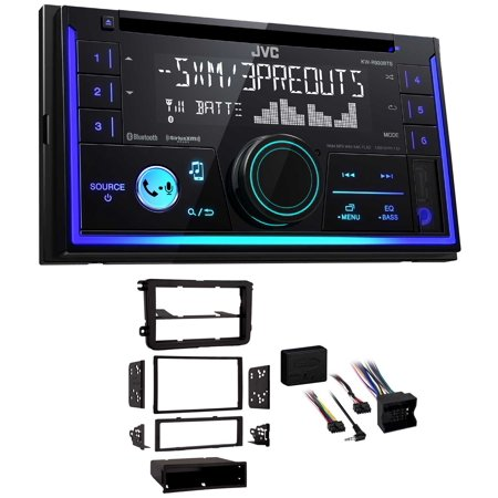 JVC Stereo CD Receiver wBluetooth/USB/iPhone/XM For 2010-14 Volkswagen Golf (Best Jvc Vintage Receivers)