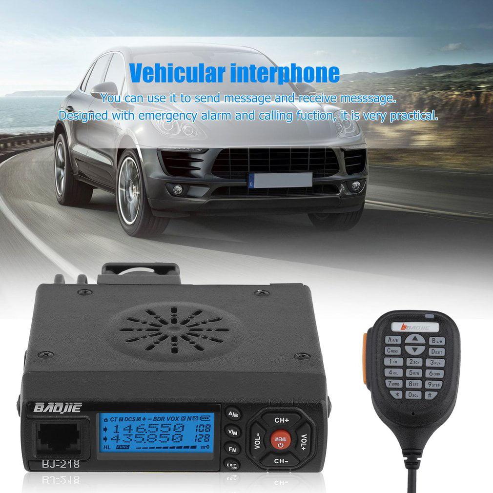 Bus Car Mobile Mini Radio FM Transmitter Transceiver Walk...