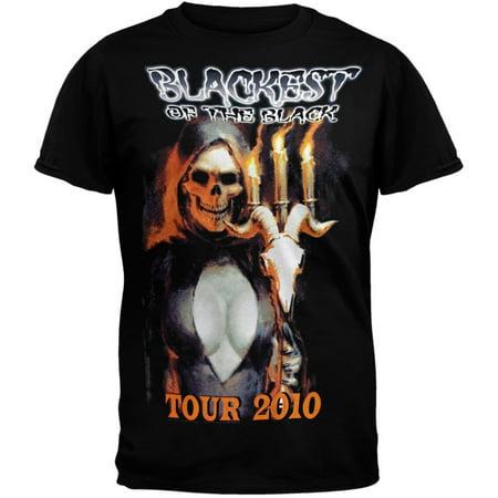 Danzig - Blackest Of Black 2010 Tour T-Shirt