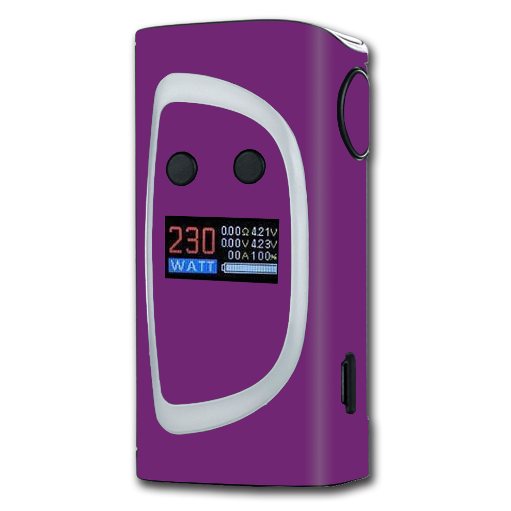 Skins Decals For Sigelei Kaos Spectrum Vape Mod / Purple Muted
