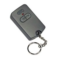 Single Button Entry/Exit Transmitter, Price For: Each Type: Gate Opener Item: Single Button Transmitter Includes: Battery, Visor Clip Country of Origin (subject to.., By GTO