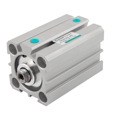 Unique Bargains Unique Bargains SDA Short Stroke 25mm Bore 40mm Pneumatic Stroke Air Cylinder