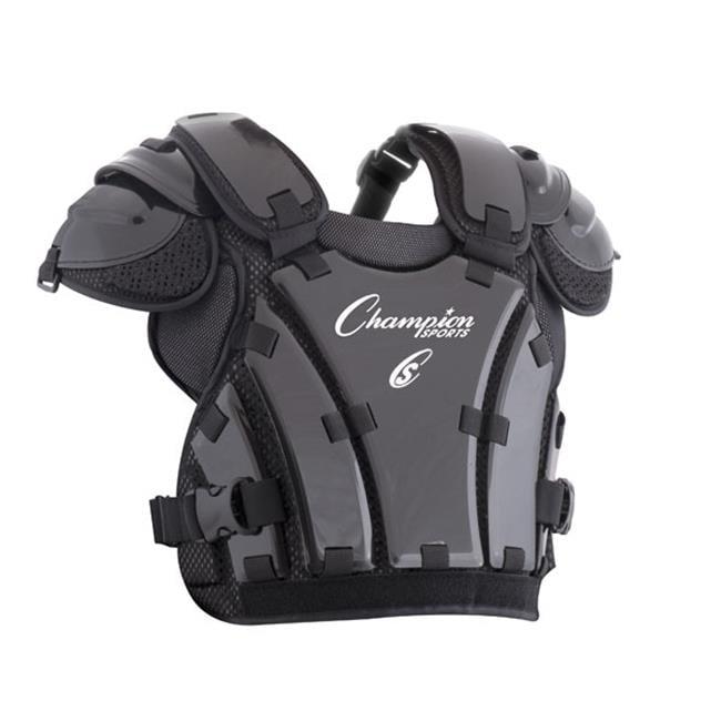 Champion Sports Umpire Chest Protector 3 Millimeter Thick Plate Armor Softball /& Baseball Equipment