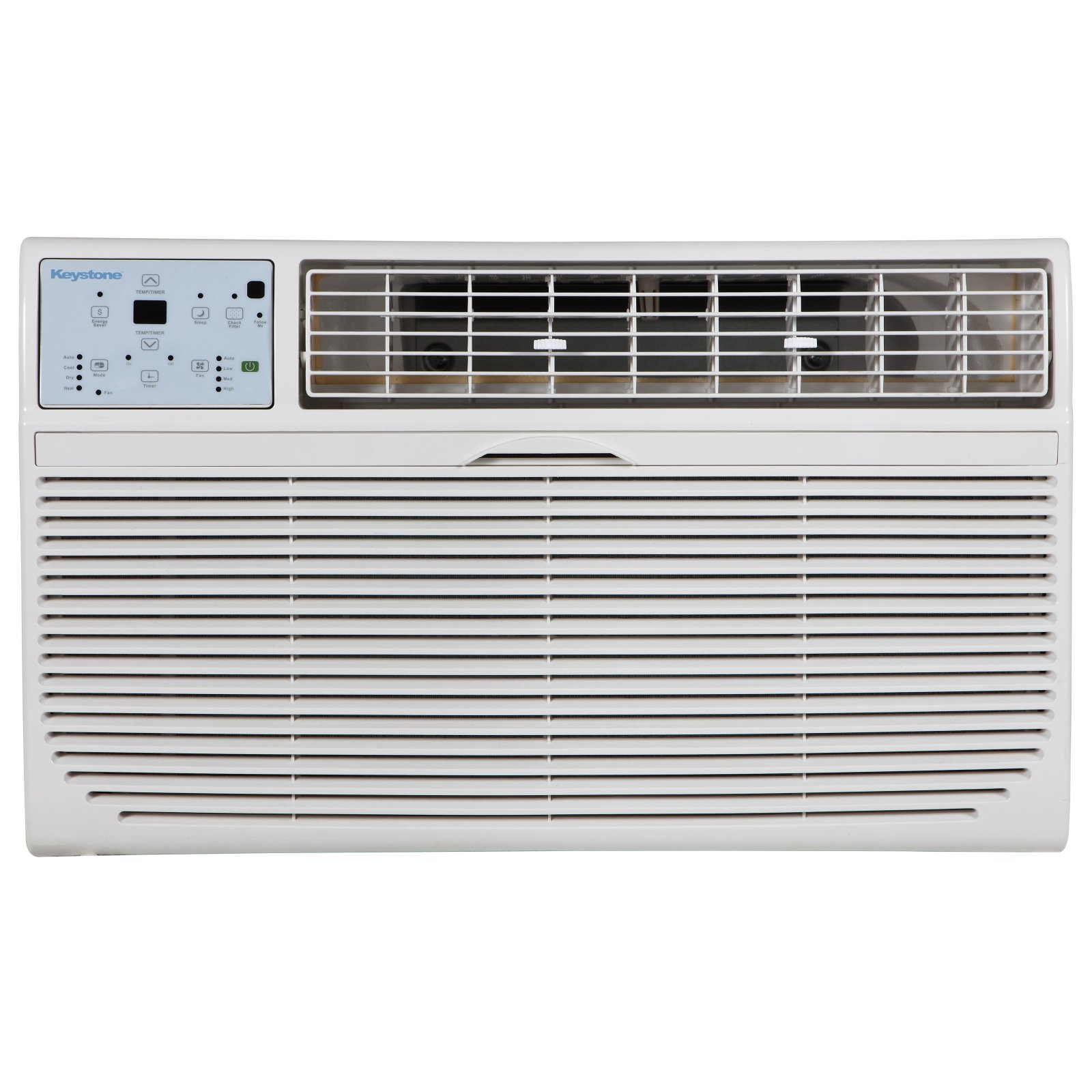 Keystone 10,000-BTU 230V Through-the-Wall Air Conditioner with 10,600-BTU Supplemental Heat Capability