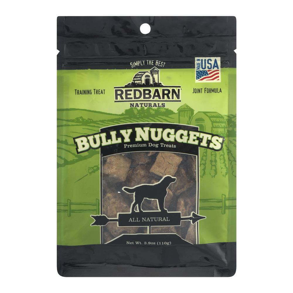 Redbarn Naturals Bully Nuggets Premium Dog Treats, 3.9 OZ