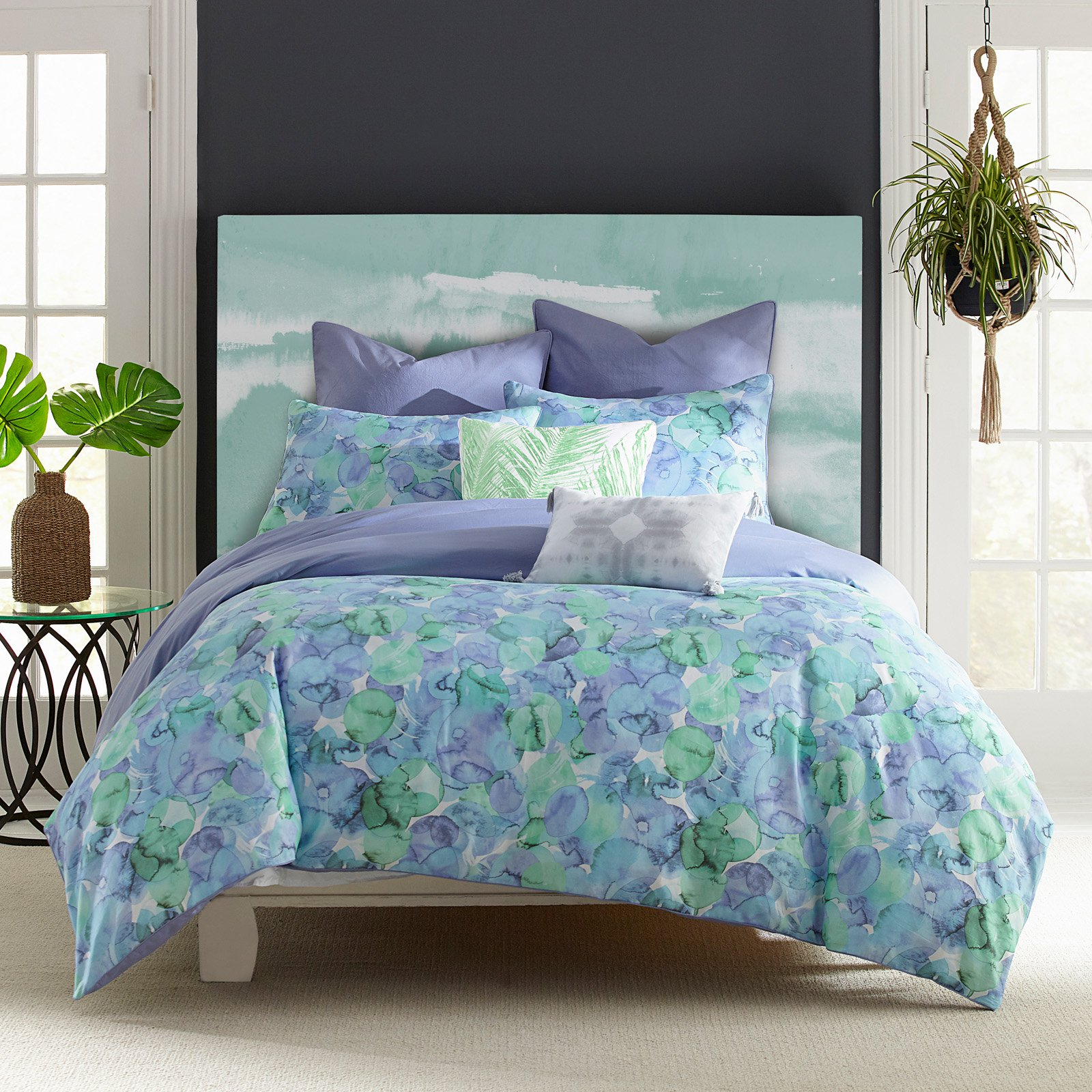Sea Of Glass Duvet Cover by Amy Sia