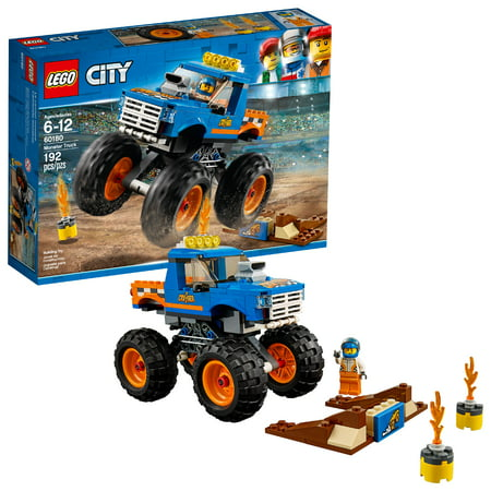 LEGO City Great Vehicles Monster Truck 60180 (192 Pieces)