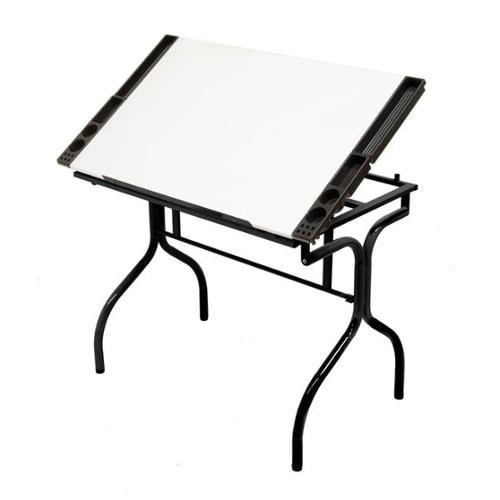 Studio Designs 13221 Folding Craft Station - Black - White