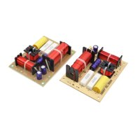 2Pcs 3-Way 180W Speaker System Audio Crossover Filters Frequency Distributor