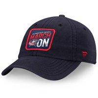Columbus Blue Jackets Fanatics Branded Hometown Adjustable Hat - Navy - OSFA