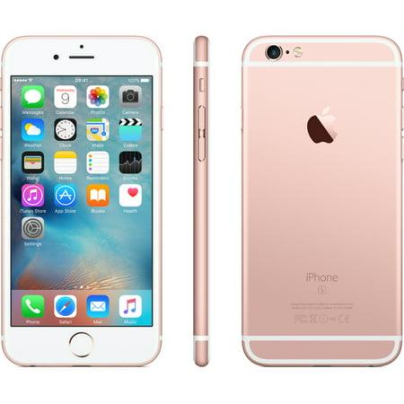 Certified Refurbished Apple iPhone 6S 64GB Verizon Wireless - Rose Gold