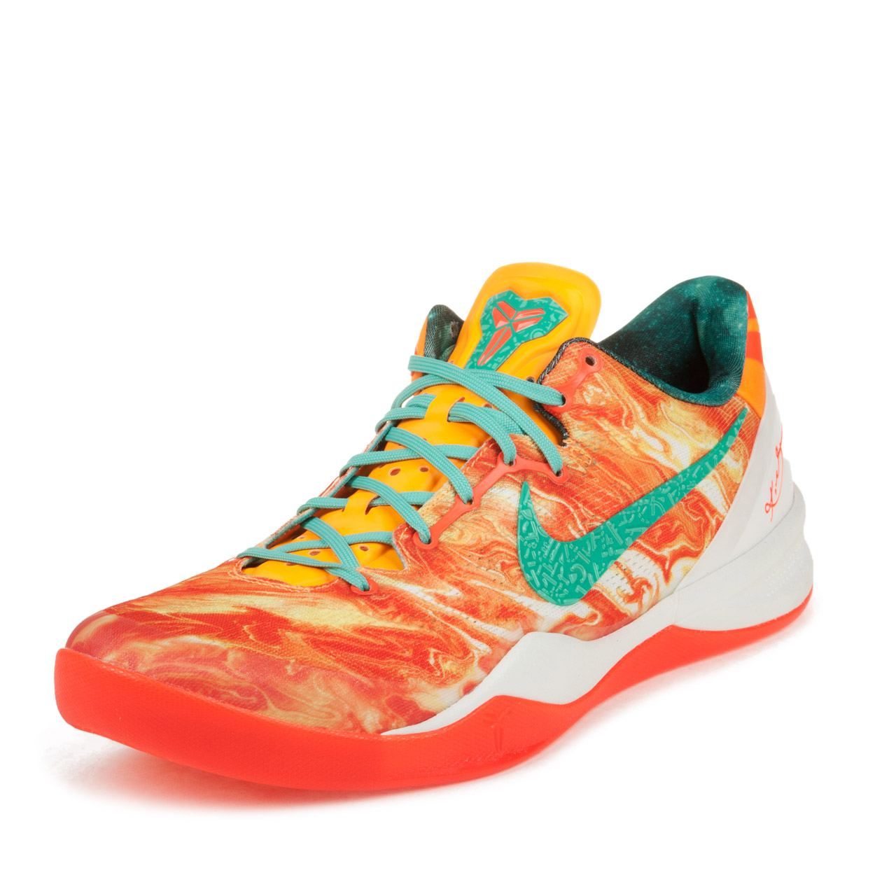 6cba400c5494 ... hot nike mens kobe 8 system sp pk with nike basketball as orange 583110  800 a464a