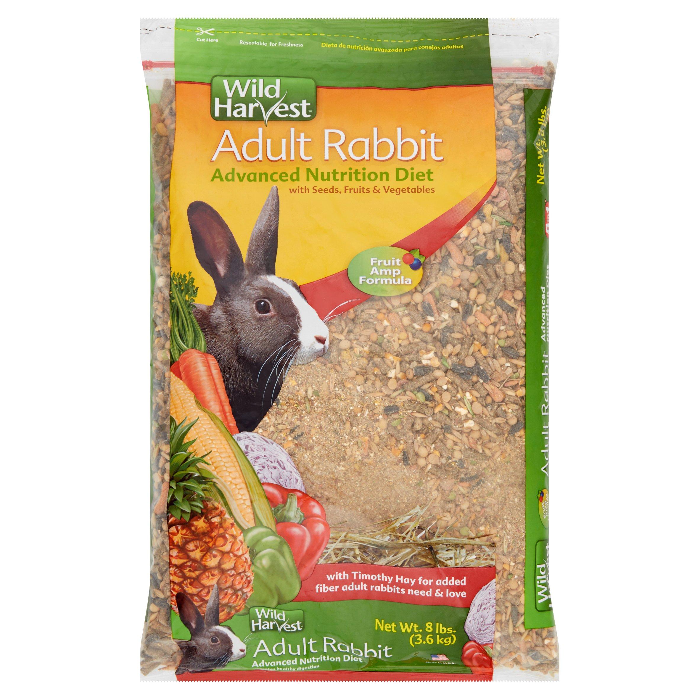 Wild Harvest Advanced Nutrition Diet Dry Adult Rabbit Food, 8 lbs