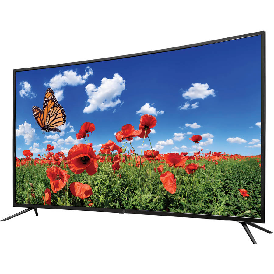 "GPX 55"" Class Curved, 4K Ultra HD, LED TV 2160p, 60Hz (TU5587B) by GPX"
