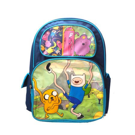 Adventure Time Finn Jake Lady Rainicorn Lumpy Backpack Bag tote purse 16