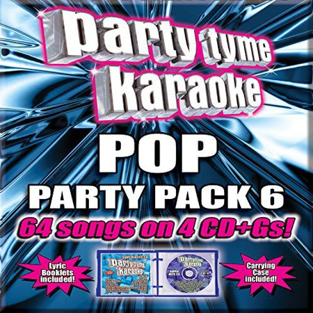 Party Tyme Karaoke: Pop Party Pack 6 (CD)