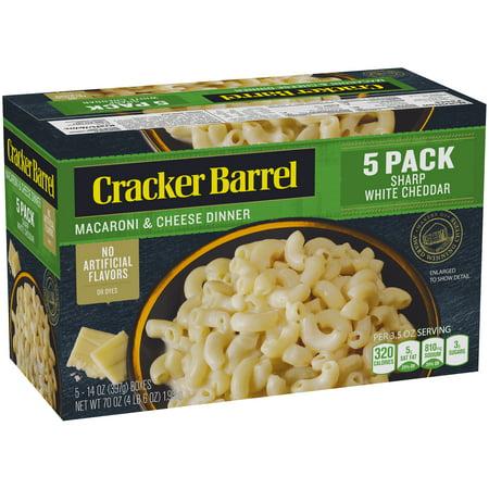 Cracker Barrel Sharp White Cheddar Macaroni & Cheese Dinner, 5 (Calories In Cracker Barrel Macaroni And Cheese Side)