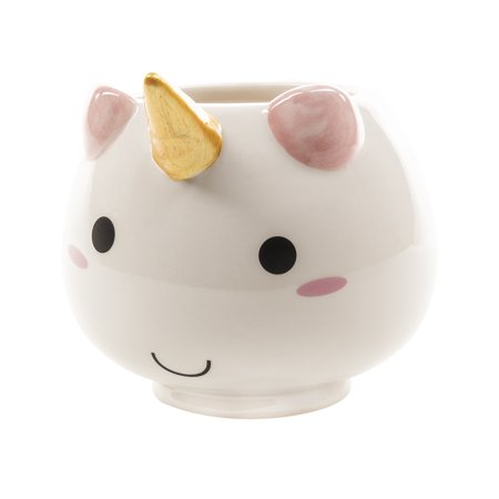 Cheap Novelty Gifts (SMOKO Elodie Unicorn Mug | Cute Ceramic Cup For Tea And Coffee | 3D Novelty)