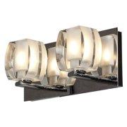 Access Lighting Evia 62287-CH/CRY 2-Light Vanity