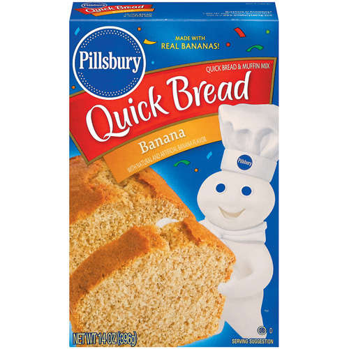Pillsbury: Banana Quick Bread & Muffin Mix, 14 Oz