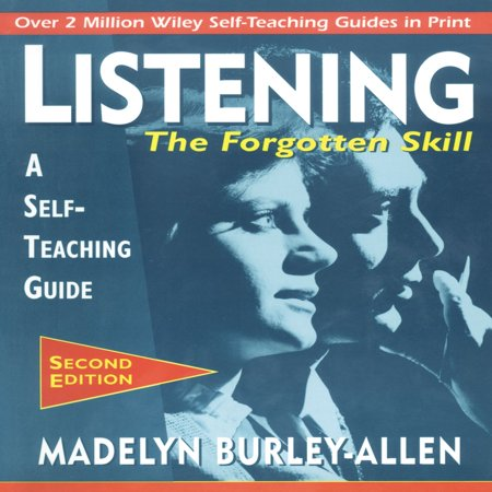 Listening: The Forgotten Skill - Audiobook