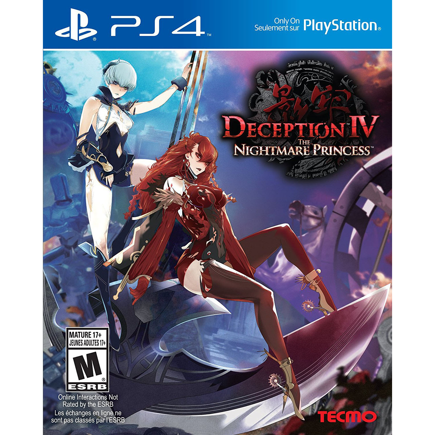 Sony PlayStation 4 Deception IV: The Nightmare Princess Video Game