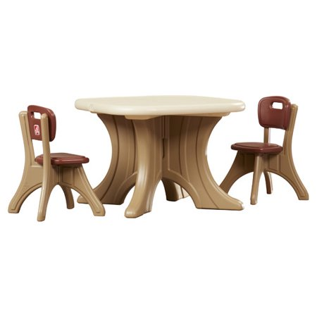 Step2 New Traditions Kids 3 Piece Writing Table and Chair Set ...