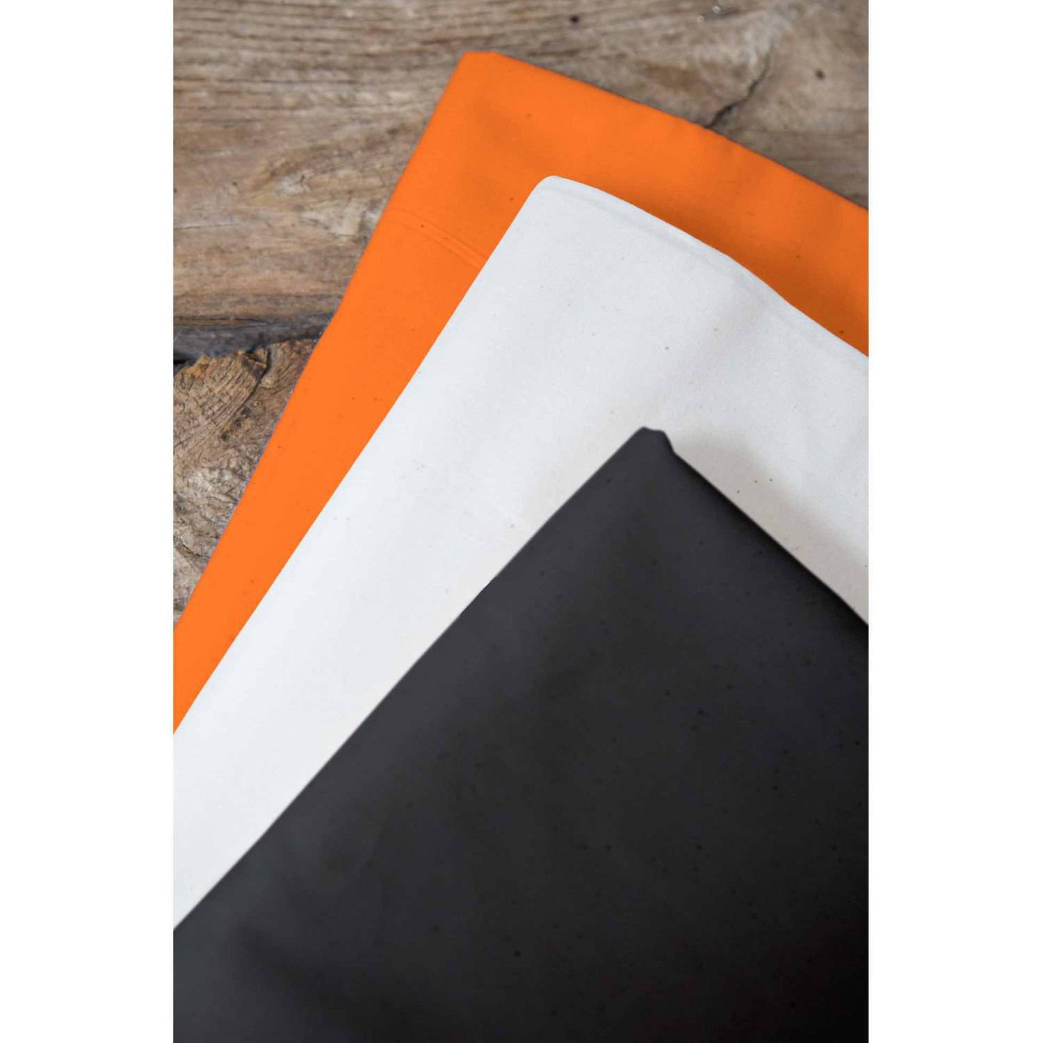 "Spooky Town Palencia Broadcloth Fabric Bundle, Orange Popsicle-White-Black, 44/45"" Width, 2-yd Cuts"