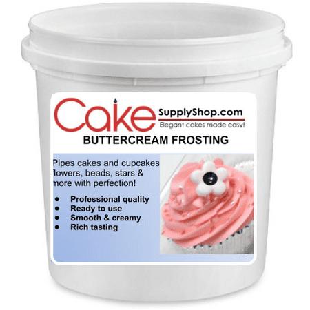 - Chocolate Buttercream Frosting 6lb Bucket