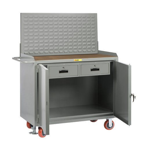 Little Giant USA Mobile Service 54''W Wood Top Workbench by Little Giant USA