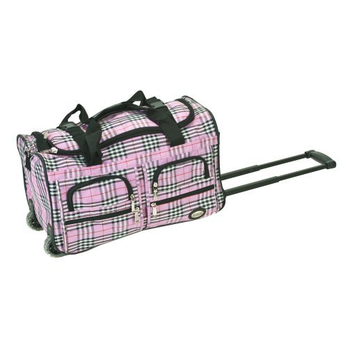 Rockland Luggage 22 in. Rolling Cross Duffle Bag