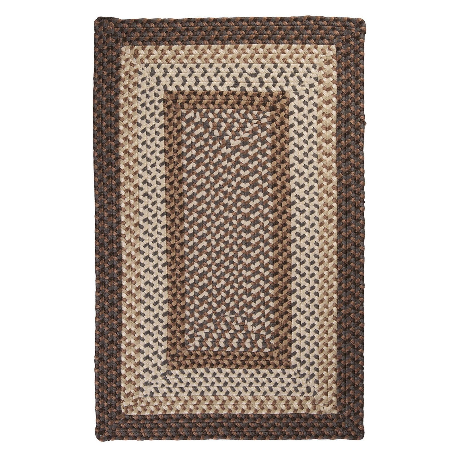 Colonial Mills TB19R Tiburon Indoor/Outdoor Braided Rug - Dockside - 36L x 24W x 0.5H in.
