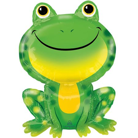 Frog Foil Balloon 30