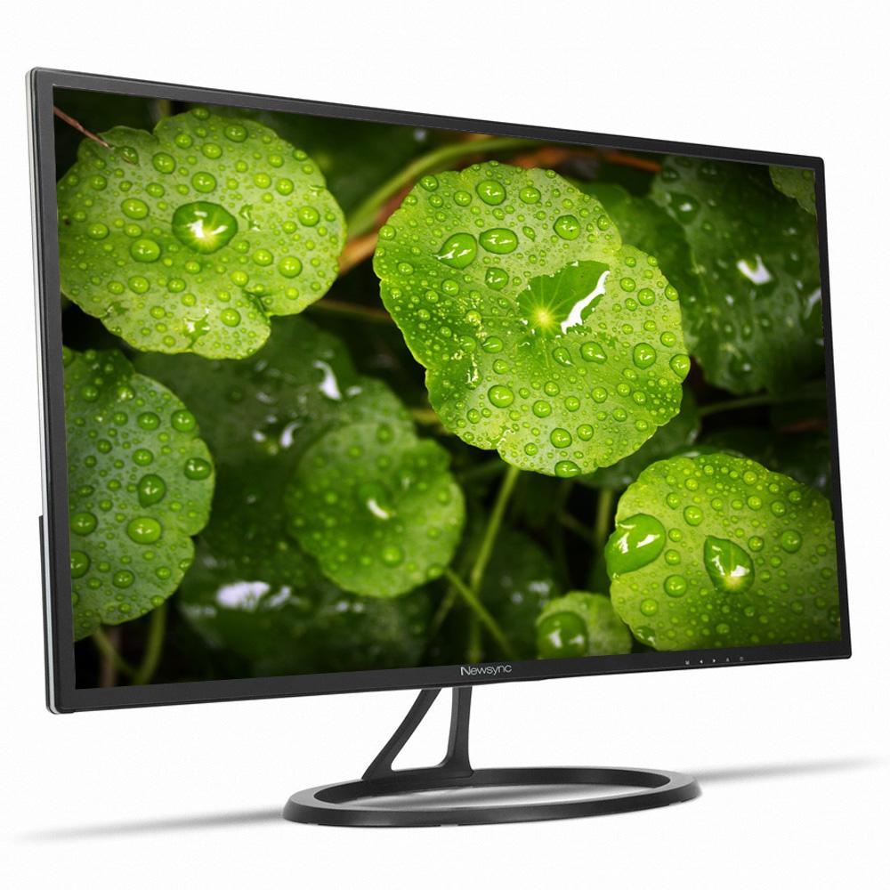 New NEWSYNC B2775QHD IPS Grace Black 27 inch LED 2560x1440 QHD AH-IPS (Flicker-Free, Low Blue Light, 50,000:1 DCR, 350 cd/m² Brightness) DisplayPort HDMI Gaming Monitor