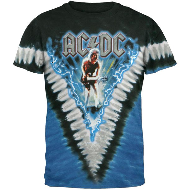 AC/DC - Let Their Be Rock V-Dye T-Shirt
