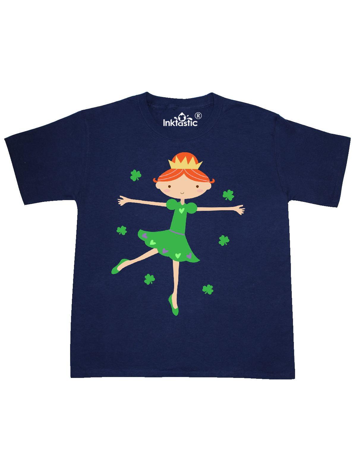 Irish Princess St Patricks Girls Youth T-Shirt
