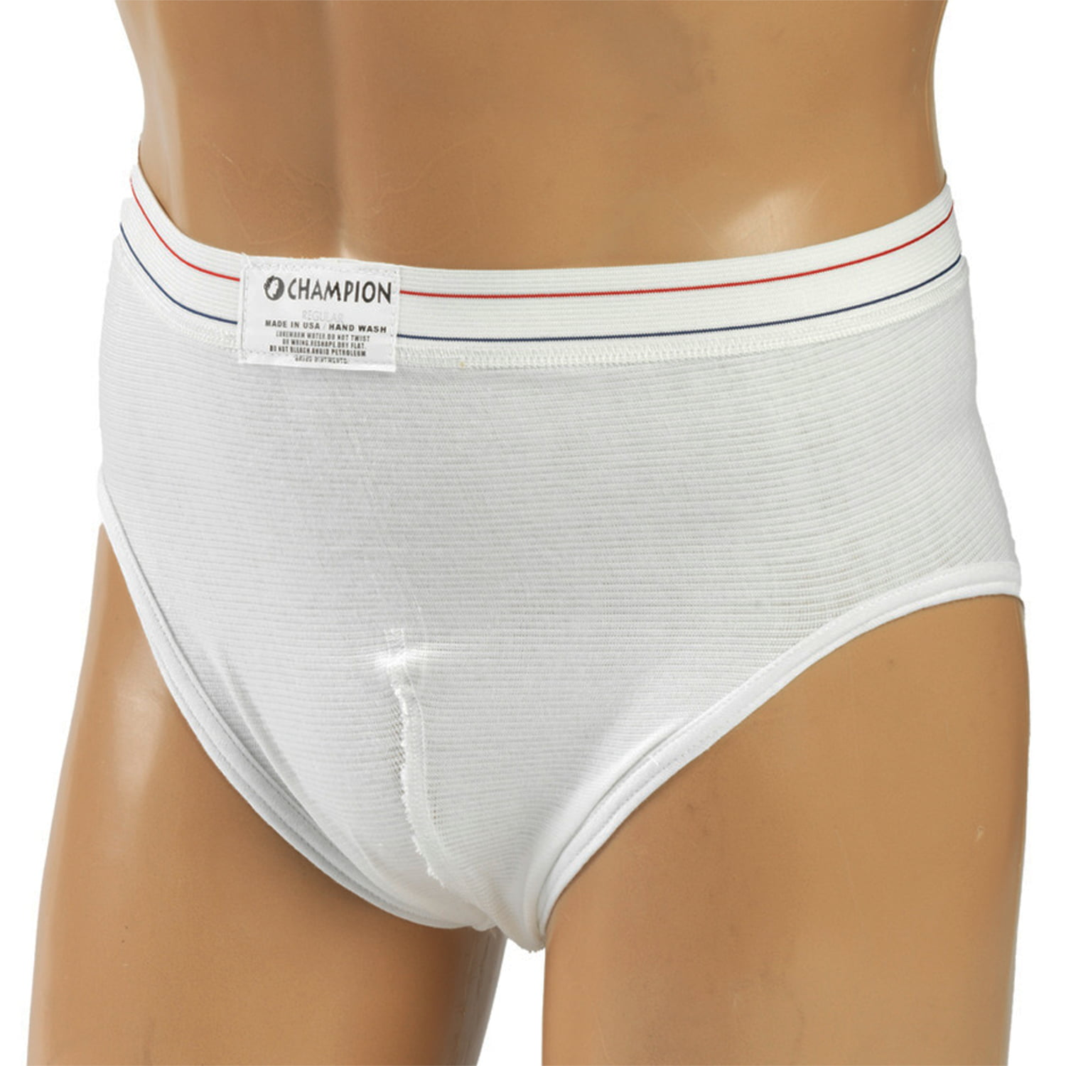 Champion Sports Brief, White, Large by SURGICAL APPLIANCE INDUSTRIES