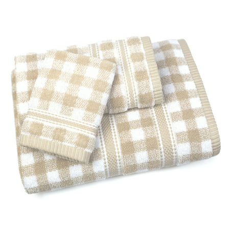 Gingham Towel (Gingham 3 Piece Towel Set in)