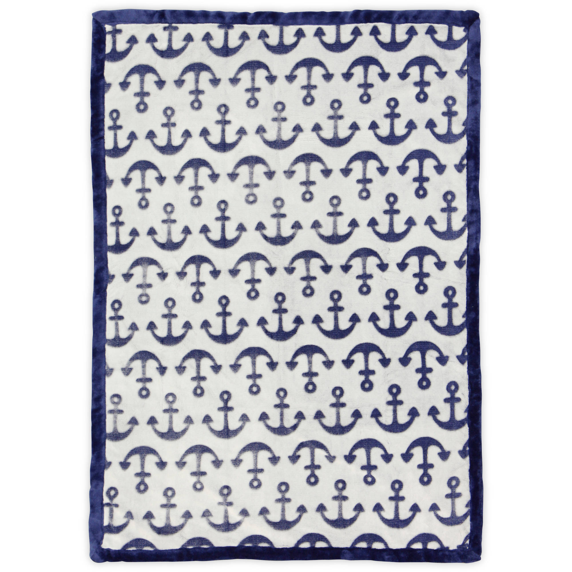 Bananafish Studio Nautical High Pile Blanket