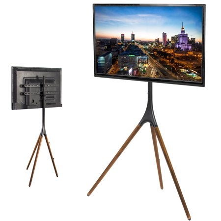 "VIVO Artistic Easel 45"" to 65"" Screen Studio TV Display Stand 