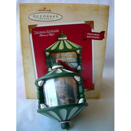 - 2004 Hallmark Keepsake Ornament Thomas Kinkade Painter of Light Victorian Christmas