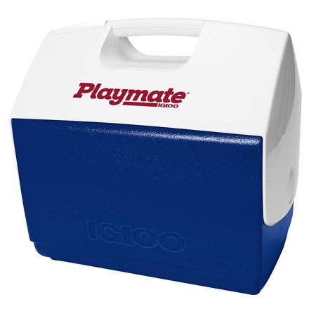 Playmate Elite Cooler, Top push-button for easy one-hand opening By Igloo