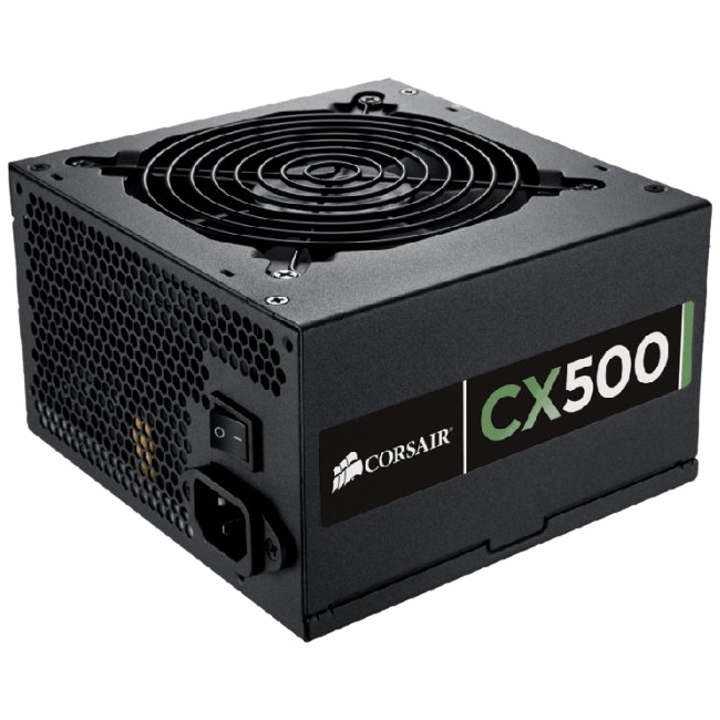 Corsair CX500 80 Plus Bronze Certified 500W Power Supply