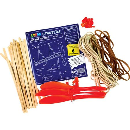 Teacher Created Resources TCR20878 Zip Line Racers Stem Starters ()
