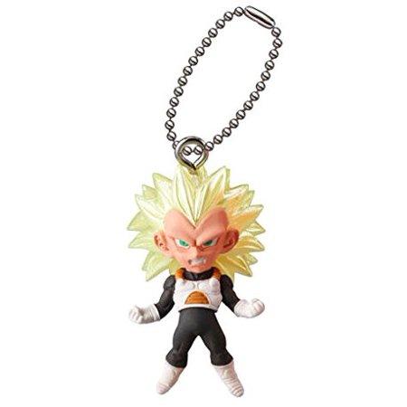 Dragon Ball UDM Best 23 SS3 Vegeta Keychain Clip-On