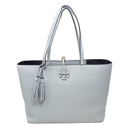 6d718309ee1 Tory Burch Women s Mcgraw Leather Top-Handle Bag Tote - Seltzer -  Walmart.com